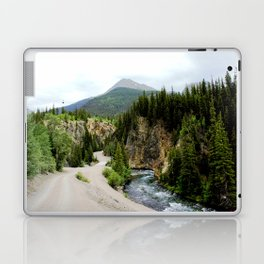 Crossing the Animas River to the Mayflower Mine Laptop & iPad Skin
