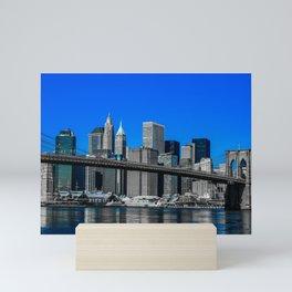 Lower Manhattan Mini Art Print