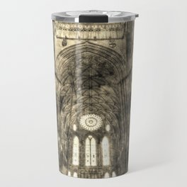 York Minster Vintage Travel Mug