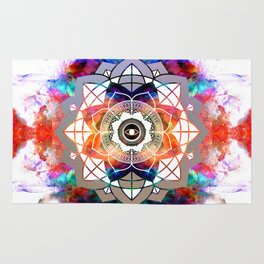 Atmospheric Mandala 035 Rug