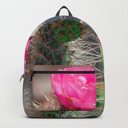 Blooming Cactus Backpack