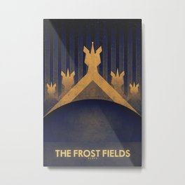 Pluto - The Frost Fields Metal Print