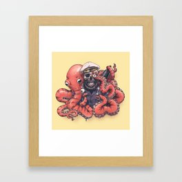 The octopus Framed Art Print