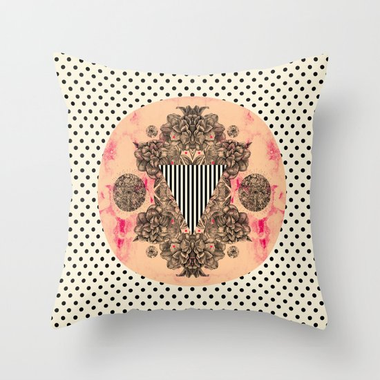 C.W. xx Throw Pillow
