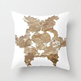 Rock Ink 01 Throw Pillow