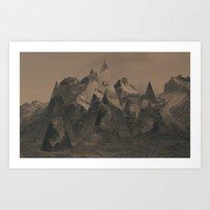 Isosceles  Art Print