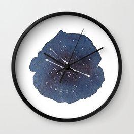 taurus constellation zodiac Wall Clock