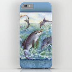 Dolphins Slim Case iPhone 6 Plus