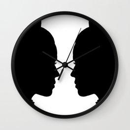 SHOULD I OR SHOULD'NT I Wall Clock
