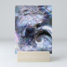 Abalone Shell Abstract Mini Art Print