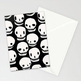 Skull Print Stationery Cards