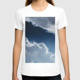 Sky, clouds and lights. T-shirt