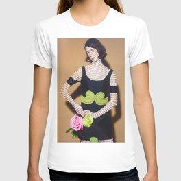 Aztec Inspired Model Print  T-shirt