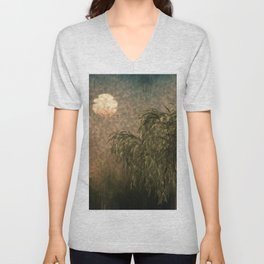 Willow at Sunset Unisex V-Neck