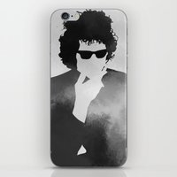 bob dylan iPhone & iPod Skins featuring Bob Dylan by Jeroen van de Ruit
