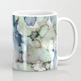 Alcohol Ink Sea Glass Coffee Mug