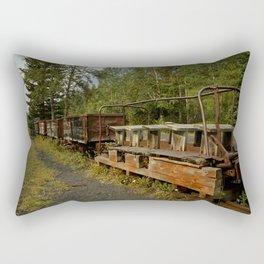 Coal Train Rectangular Pillow