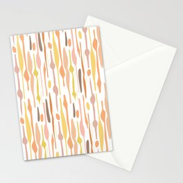 Organic Pattern Stationery Cards
