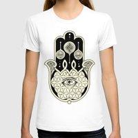 hamsa T-shirts featuring Hamsa by Joel Amat Güell