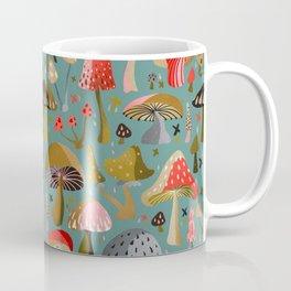 Mushroom Collection – Mint Coffee Mug