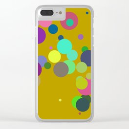 Circles #10 - 03152017 Clear iPhone Case