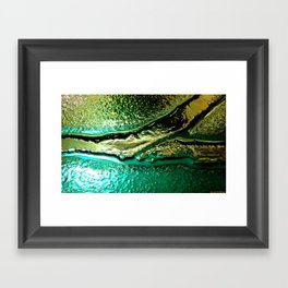 Microscopic part 1 Framed Art Print