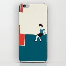 Sitting iPhone & iPod Skin