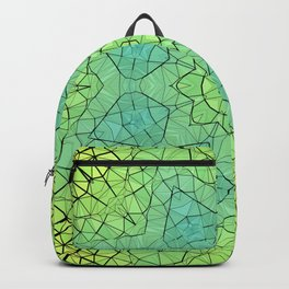Spring Stained Glass Mandala Backpack