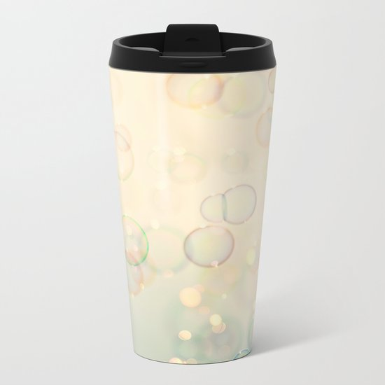 Bubbles  Metal Travel Mug