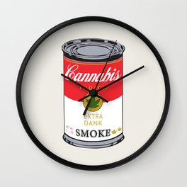 Campbell's Soup (Cannabis Indica) Wall Clock