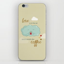 Love is in the air iPhone Skin