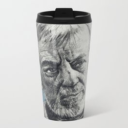 That Wizard is just a Crazy old man - Ob1 Metal Travel Mug