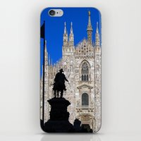 milan iPhone & iPod Skins featuring Milan by Kallian