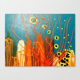 Raleigh city Canvas Print