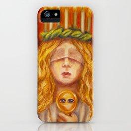 Saint Lucy iPhone Case