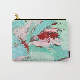 Minted Spring Carry-All Pouch