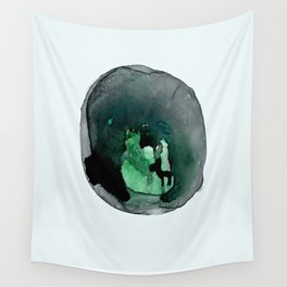 Cellular Damage Wall Tapestry