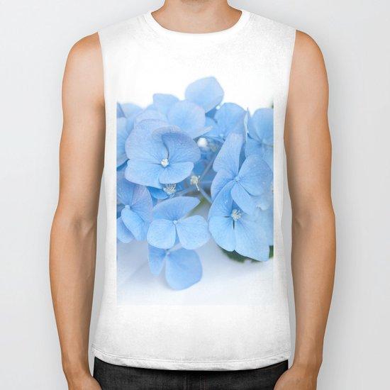 Blue Hydrangeas #1 #decor #art #society6 Biker Tank