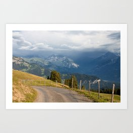 Mountain Path Art Print