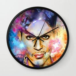 Portrait of Legend Wall Clock
