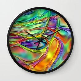 Energy Liquids 2 Wall Clock