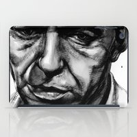 frank sinatra iPad Cases featuring Only the Lonely - Frank Sinatra by Tiffany Tate