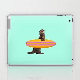 SURFING OTTER Laptop & iPad Skin