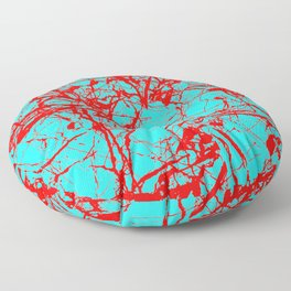 Freedom Red Floor Pillow