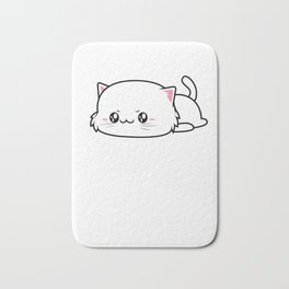 Anime Power Happy Cat Manga Japan Gift Bath Mat
