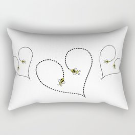 Bee My Heart 2 Rectangular Pillow