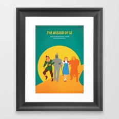 Wzard of Oz Framed Art Print