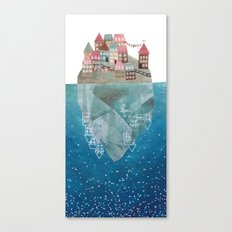 island II Canvas Print