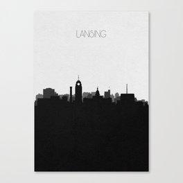 City Skylines: Lansing Canvas Print