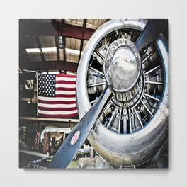 Aviation in the USA Metal Print